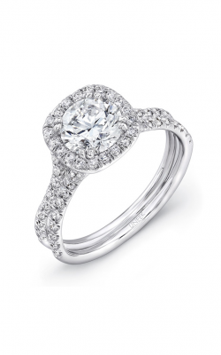 Uneek Silhouette Engagement ring LVS898-6.5RD product image