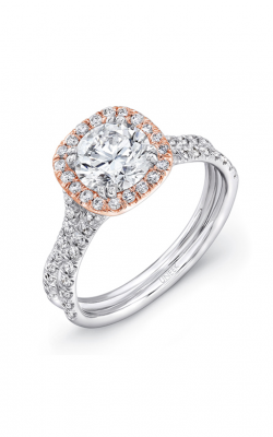 Uneek Silhouette Engagement ring LVS898R-6.5RD product image