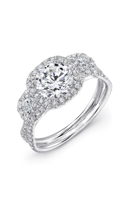 Uneek Silhouette Engagement Ring LVS921-8.0RD product image