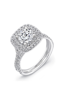 Uneek Silhouette Engagement ring LVS923-6.5RD product image