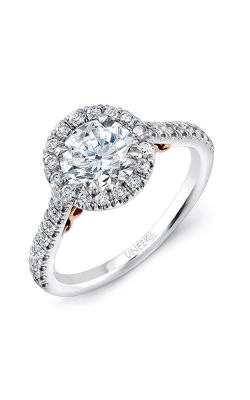 Uneek Amore Engagement Ring A101RDWR-6.5RD product image