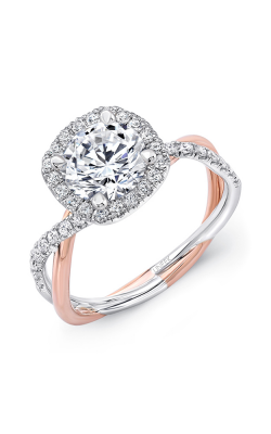 Uneek Infinity Engagement ring SM817CUWR-6.5RD product image