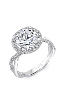 Uneek Infinity Engagement ring SM817RD-7.0RD product image