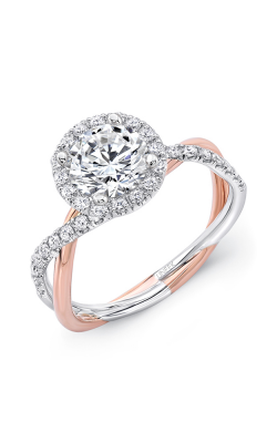Uneek Infinity Engagement Ring SM817RDWR-6.5RD product image