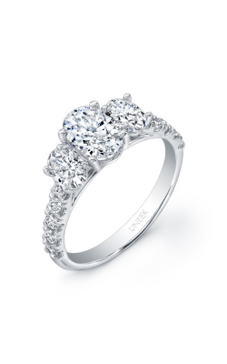 Uneek Unity Engagement Ring USM015OV2-7.5X5.5MM product image