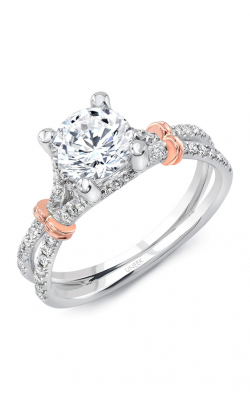Uneek Silhouette Engagement ring LVS965BWR-6.5RD product image
