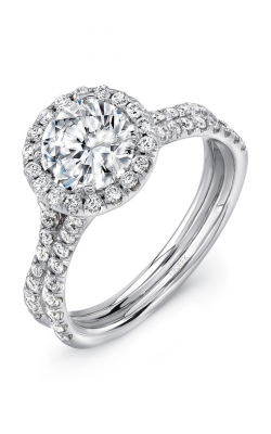 Uneek Silhouette Engagement ring LVS924-7.5RD product image