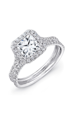 Uneek Silhouette Engagement Ring LVS899 product image