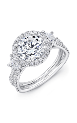 Uneek Silhouette Engagement ring LVS983RD-8.2RD product image