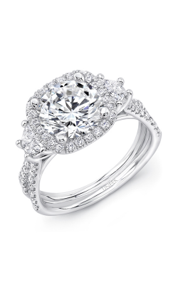 Uneek Silhouette Engagement ring LVS983CU-8.2RD product image
