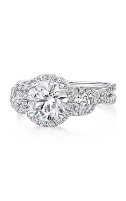 Uneek Silhouette Engagement Ring LVS922-6.5RD product image