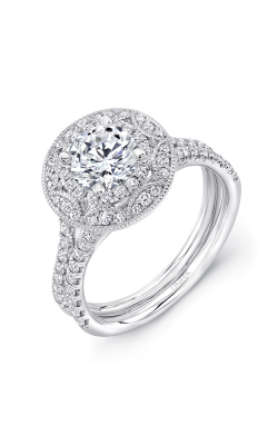 Uneek Silhouette Engagement Ring LVS987RD-6.0RD product image