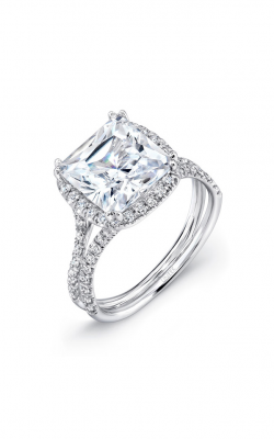 Uneek Silhouette Engagement ring LVS854 product image