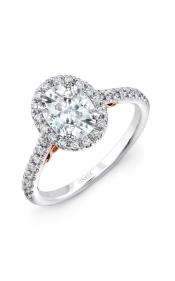 Uneek Amore Engagement ring A101WR-7.5X5.5EM product image
