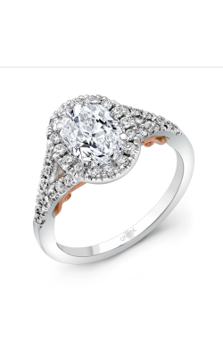 Uneek Amore Engagement Ring A104WR-7.5X5.5OV product image