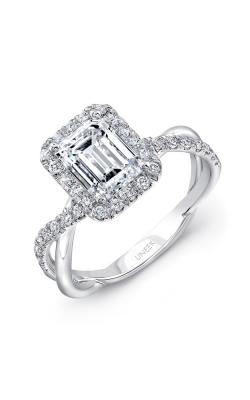 Uneek Infinity Engagement ring SM817EM-7.5X5.5EM product image