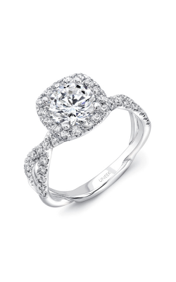 Uneek Infinity Engagement Ring SM818CU-6.5RD product image