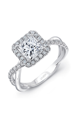 Uneek Infinity Engagement Ring SM817PR-5.5PC product image