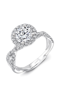 Uneek Infinity Engagement Ring SM818RD-7.0RD product image