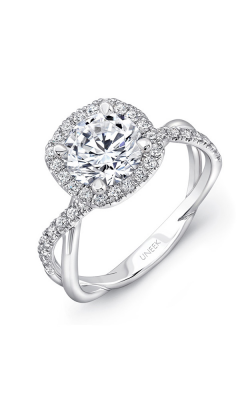 Uneek Infinity Engagement Ring SM817CU-6.5RD product image