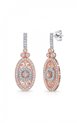 Uneek Medallion Earrings LVE685RW product image