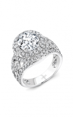Uneek Radiance Engagement ring SM827W-10X8OV product image