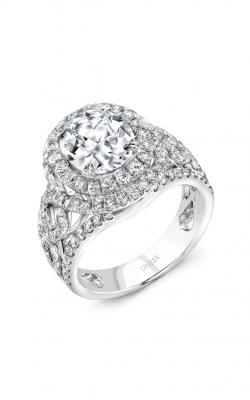 Uneek Radiance Engagement Ring SM827W-10X8OV product image