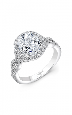 Uneek Radiance Engagement ring SM834W-10X8OV product image