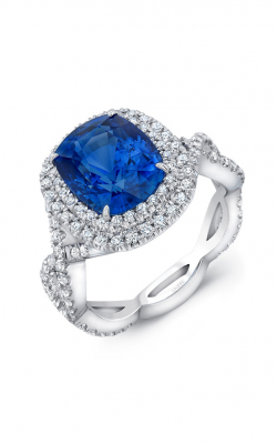 Uneek Royal Blue Engagement ring LVS841 product image