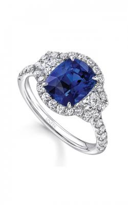 Uneek Royal Blue Engagement Ring LVS981 product image