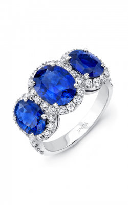 Uneek Royal Blue Engagement Ring LVS990OV product image