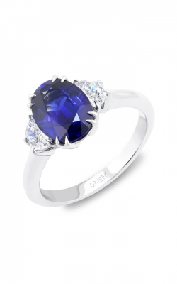 Uneek Royal Blue Engagement ring LVS978OV product image