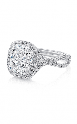Uneek Silhouette Engagement Ring LVS955 product image