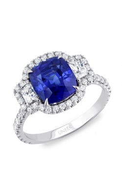 Uneek Royal Blue Engagement Ring LVS981 product image