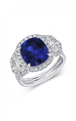 Uneek Royal Blue Engagement ring LVS1027CUBS product image