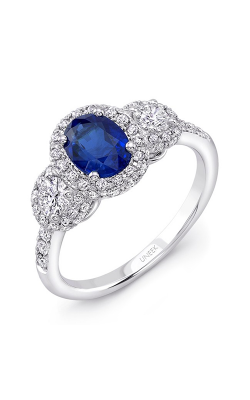 Uneek Royal Blue Engagement Ring LVRTP1529S product image