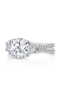 Uneek Silhouette Engagement Ring LVS1016RD-8.2MM product image