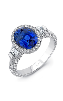 Uneek Royal Blue Engagement Ring LVS258 product image