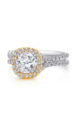 Uneek Silhouette Engagement Ring LVS898Y-6.5RD product image