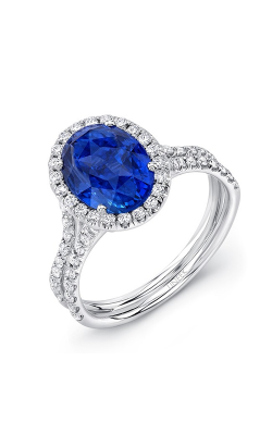 Uneek Royal Blue Engagement Ring LVS925BS product image