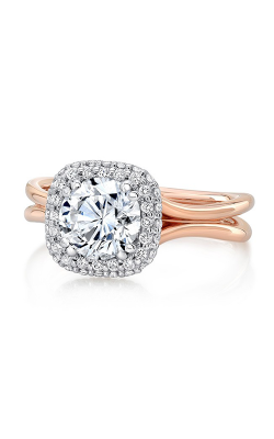 Uneek Silhouette Engagement Ring LVS977CUWR-6.5RD product image
