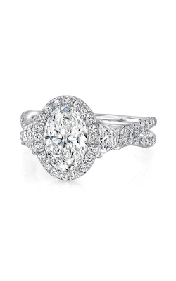 Uneek Silhouette Engagement Ring LVS983OV-7.5X5.5OV product image