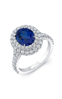 Uneek Royal Blue Engagement Ring LVS994OVBS product image