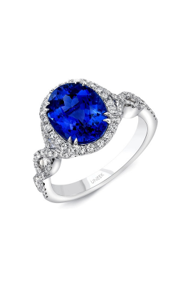Uneek Royal Blue Engagement Ring SM834W-10X8OVBS product image