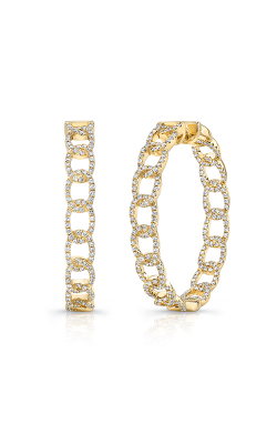 Uneek La Mirada Inside-Out Diamond Hoop Earrings LVEWA7534Y product image