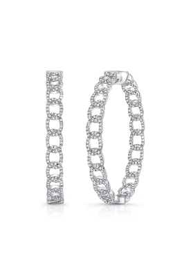 Uneek La Mirada Inside-Out Diamond Hoop Earrings LVEWA7535W product image
