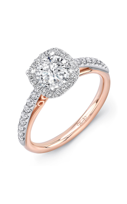 Uneek Engagement Rings Engagement Ring A107CUWR-6.5RD product image