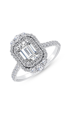 Uneek Emerald Cut Diamond Engagement Ring SWS232DHDS-7X5EM product image
