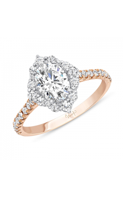 Uneek Engagement Rings SWS234DSWR-7X5.5OV product image