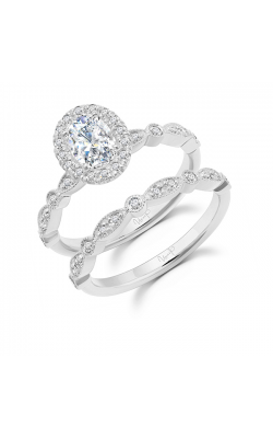 Uneek Engagement Rings Engagement Ring SWUS003OVW-7X5.5OV product image